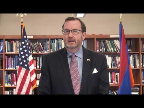 U.S. Ambassador Richard Mills's congratulatory video on Armenia becoming the 52nd country to join EITI