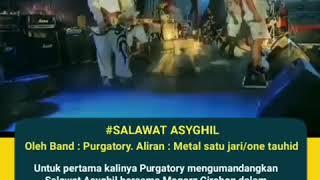 Band Metal Purgatory Bershalawat