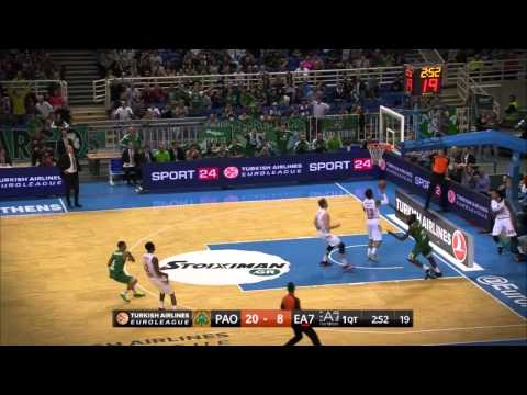 Assist of the Night: Dimitris Diamantidis, Panathinaikos Athens
