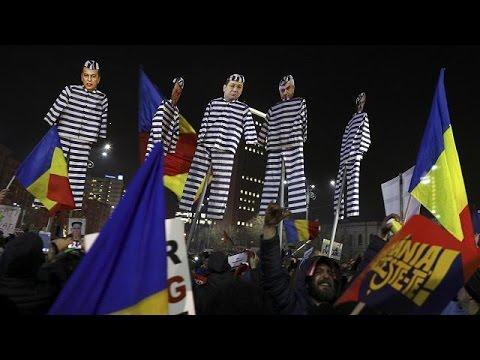 Λαοθάλασσα κατά της διαφθοράς στην Ρουμανία
