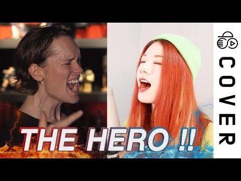 JAM Project - THE HERO !! (One Punch Man OP)┃Raon Lee x PelleK
