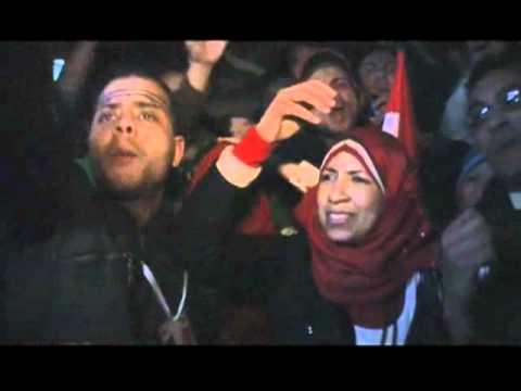 Egyptians Cheer End of Mubarak Rule
