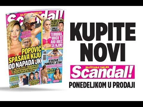 SCANDAL NOVINE: Popović spasava Kiju od Karleušinih napada! Milanu Stankoviću otkazuju pankreas i jetra! Anđelo preti: Teodora, ubiću te ako odeš sa njim
