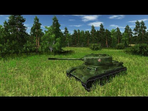 КРАСИВАЯ ИГРА про ТАНКИ ВТОРОЙ МИРОВОЙ ! Танковые Бои Т-34 и Тигров ! On the front line