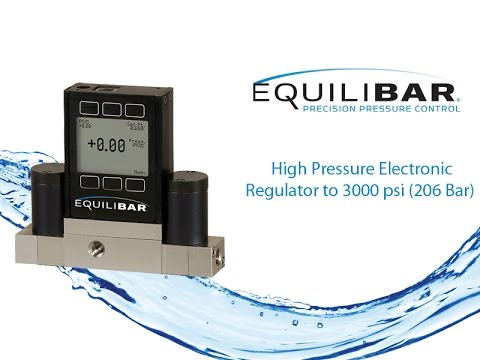 High Pressure Electronic Regulator to 3000 psi (206 Bar)