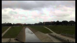 Time Lapse of Houston Flood Control Bayou and Gully