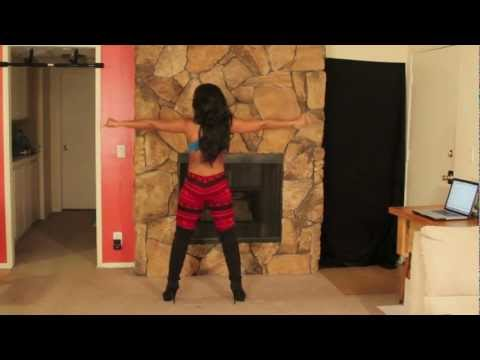 "Valentines Day Sexy Dance Workout ""Twerk Out"" With Keaira LaShae"