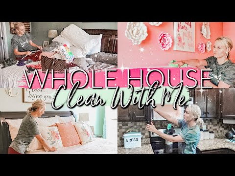 *NEW-WHOLE HOUSE CLEAN WITH ME 2019| EXTREME CLEANING MOTIVATION /CLEANING ROUTINE