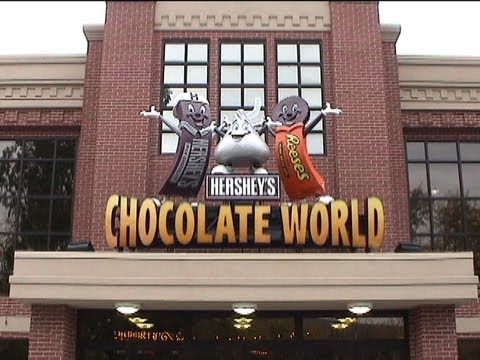Omnimover - This is a full ride through of Hershey's Great American Chocolate Tour Omnimover Dark Ride at Hershey's Chocolate World in Hershey PA! This was recorded in 2...