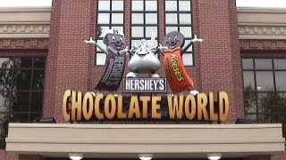 Hershey (PA) United States  City new picture : Hershey's Great American Chocolate Tour Omnimover Dark Ride, Hershey's Chocolate World, Hershey PA