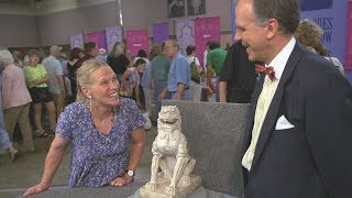 On Monday, June 19 at 8/7C PM on PBS, ANTIQUES ROADSHOW revisits Albuquerque appraisals from 2002 that have been updated with today's market value, including a fan-favorite Tang dynasty marble lion that moved the expert to tears. Has time impacted the value of this rare find? Find out in this Vintage Albuquerque preview!ANTIQUES ROADSHOW airs Mondays at 8/7C PM & 9/8C PM on PBS. Watch full-length episodes of ANTIQUES ROADSHOW at http://www.pbs.org/show/antiques-roadshow To be the first to know about all our broadcast and tour info, subscribe to our newsletter and follow us on Twitter & Instagram @RoadshowPBS, Pinterest, and Facebook!