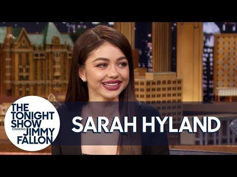 "Jimmy Gushes over Sarah Hyland's ""Bachelor"" Boyfriend Wells Adams"