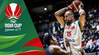 Fadi El Khatib shows how valuable he is for host country Lebanon. He scored once again 30 points against Chinese Taipei and...