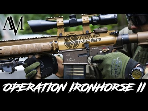 American Milsim Sniper - Swamp Sniper видео