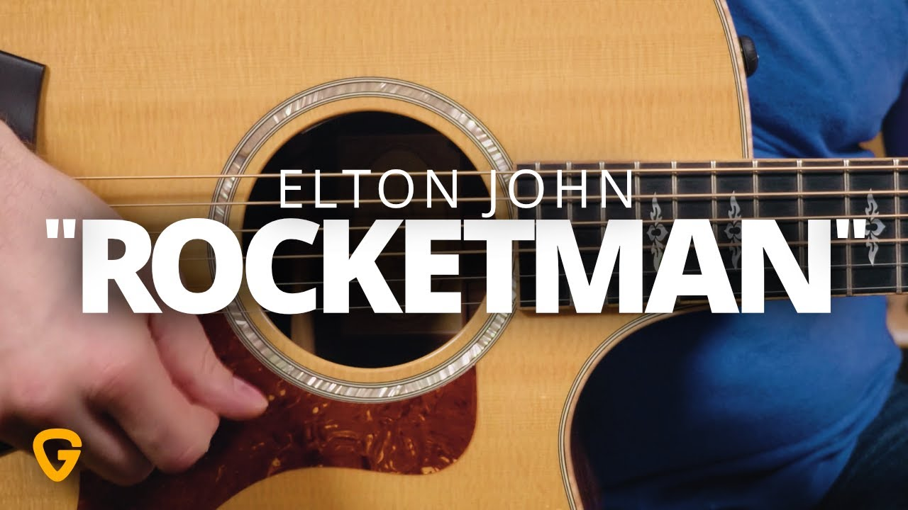 """Rocketman"" – Elton John Guitar Lesson"