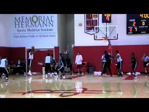 Houston Rockets Scrimmage - 12/15/2011 - Part 1/2