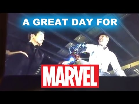 review trailer - Today Agents of SHIELD aired the hammer aka Mjolnir clip from Avengers 2 Age of Ultron! http://bit.ly/subscribeBTT Beyond The Trailer host Grace Randolph gives her review aka reaction to the...