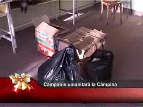 Campanie umanitară la Câmpina