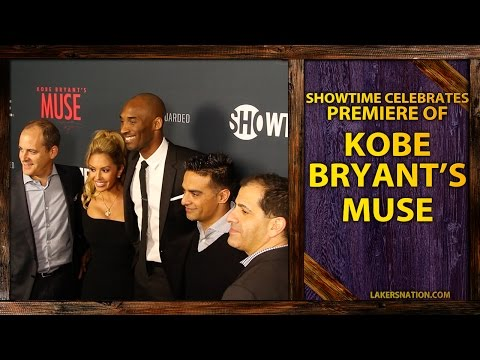 Video: Kobe Bryant's MUSE: Showtime's Exclusive Screening Event