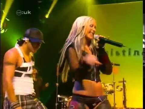 Christina Aguilera - Get mine get yours Live