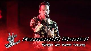 Fernando Daniel - When we were young (Adele) | Gala Final | The Voice Portugal Video