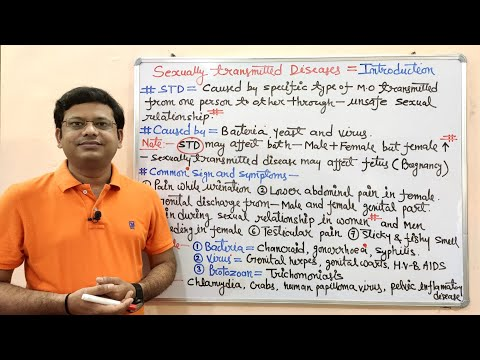 Sexually Transmitted Disease (Part-01) General Introduction (HINDI) with FREE Online Test