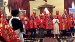 Baltimore Eyesus Ethiopian Orthodox Tewahedo Church Kids Singing - Medhanialem Adanen