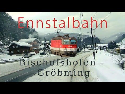 Führerstandsmitfahrt Bischofshofen - Selzthal Teil 1/2 - Cab Ride - ÖBB 1144