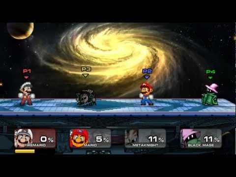 Super Smash Flash 2 v0.9 - todos los final smashes - Por MrXXavierXX