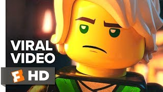 The Lego Ninjago Movie Viral Video - SDCC Greeting (2017): Check out the new viral video starring  Olivia Munn, Kumail Nanjiani, and Justin Theroux! Be the first to watch, comment, and share trailers and movie teasers/clips dropping soon @MovieclipsTrailers. ► Buy Tickets: https://www.fandango.com/thelegoninjagomovie_199152/movieoverview?cmp=MCYT_YouTube_DescWatch more Trailers: ► HOT New Trailers Playlist: http://bit.ly/2hp08G1► What to Watch Playlist: http://bit.ly/2ieyw8G► Even More on COMING SOON: http://bit.ly/H2vZUnSix young ninjas Lloyd, Jay, Kai, Cole, Zane and Nya are tasked with defending their island home, called Ninjago. By night, they're gifted warriors, using their skills and awesome fleet of vehicles to fight villains and monsters. By day, they're ordinary teens struggling against their greatest enemy: high school.About Movieclips Trailers:► Subscribe to TRAILERS:http://bit.ly/sxaw6h► We're on SNAPCHAT: http://bit.ly/2cOzfcy ► Like us on FACEBOOK: http://bit.ly/1QyRMsE ► Follow us on TWITTER:http://bit.ly/1ghOWmt The Fandango MOVIECLIPS Trailers channel is your destination for hot new trailers the second they drop. The Fandango MOVIECLIPS Trailers team is here day and night to make sure all the hottest new movie trailers are available whenever, wherever you want them.