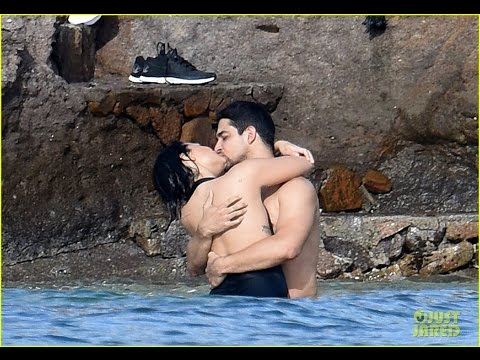 Demi Lovato Packs on the PDA with Wilmer Valderrama in St. Barts