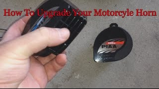 9. How To Upgrade Your Motorcycle Horn PIAA Slimline 2014 Yamaha FJR 1300 ES