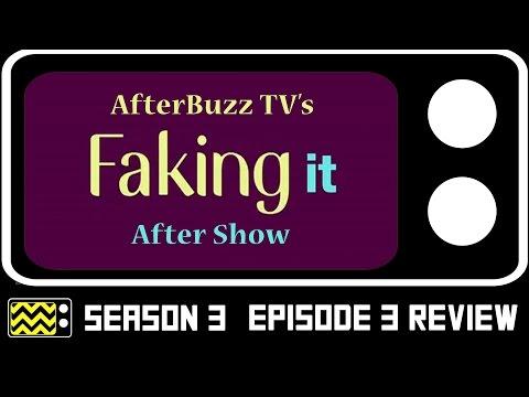 Faking It Season 3 Episode 3 Review w/ Katie Stevens   AfterBuzz TV