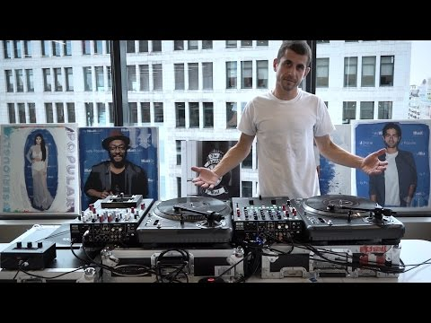 DJ Brace performs one of the most technically difficult routines in all of turntablism