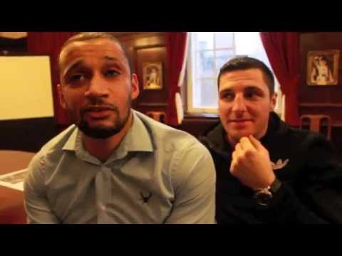 tommy - TOMMY COYLE & CURTIS WOODHOUSE POST-FIGHT INTERVIEW FOR iFL TV / JEROME WILSON FUND RAISER.
