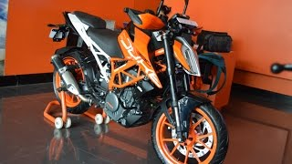 7. KTM Duke 390 2017 Walkaround, Mileage, Review, First Look And What's New.