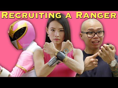 Recruiting a Power Ranger [FAN FILM] *Wushu Ranger*