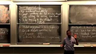 Lec 6 | MIT 5.95J Teaching College-Level Science And Engineering, Spring 2009
