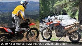 2. 2010 KTM 690 vs. BMW F800GS Adventure - MotoUSA