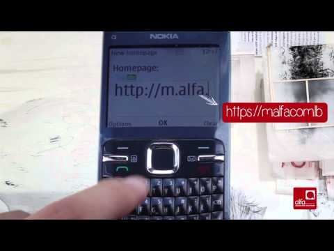 How To Enter The Alfa Internet Settings: Nokia C3