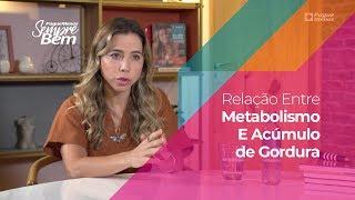Relação Entre Metabolismo E Acúmulo de Gordura