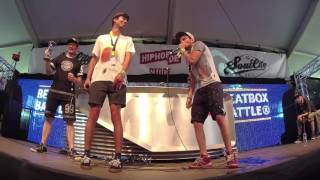 Watch the quarterfinal between Rammon from Bulgaria versus B-Art from the Netherlands live on stage at the Frauenfeld Beatbox Battle. The whole competition was judged by ZeDe from Switzerland, Zeero from Germany and Penkyx from Belgium. The contest was produced by Bee Low for Beatbox Battle TV with the support of Flimme TV and AEE Cameras as a side event of the Frauenfeld Openair Festival. #BBBTVBBB³TV = BEAT BOX BATTLE TELEVISION ♪ Battles - Interviews - Showcase - FreestyleHome: http://BeatBoxBattle.TV Profile: http://google.com/+BeatBoxBattleTV Beatbox Battle® World Championship - Convention Days - Club Caixa da Batida Bôite à Rythme Bit Boks κτυπήστε το κιβώτιο Mond Percusie 拍 子 盒 Scatola di Battute 비트박스 коробка удара 敲打箱子 Vocale Percussie صخبا الطرق Bittaus Vocal Percussion Maultrommel Special FX Sound Mouth Drumming A cappella