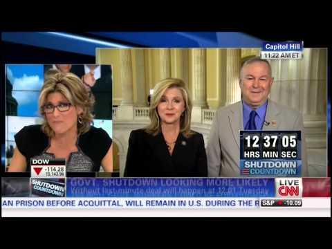 Republicans - Republicans Marsha Blackburn and Dana Rohrabacher are asked if they would give up their salaries during the shutdown --On the Bonus Show: Marijuana candy, ...