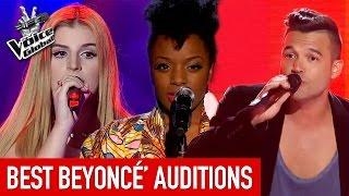 Video The Voice | BEST BEYONCÉ Blind Auditions from around the world MP3, 3GP, MP4, WEBM, AVI, FLV Agustus 2018