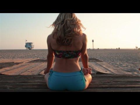 Beach Yoga, Sunset Improv Flow with Kino Santa Monica, California video