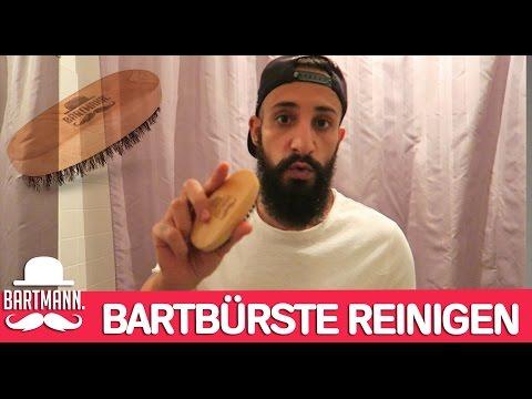 BARTBÜRSTE REINIGEN | BARTMANN