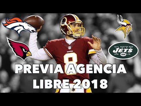 PREVIA Y PREDICCIONES AGENCIA LIBRE 2018 NFL | Hablemos de Football Ep. 99