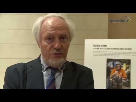 Intervista al al prorettore dell'Università La Sapienza di Roma Mario Morcellini in occasione della premiazione di Reporter per la Terra