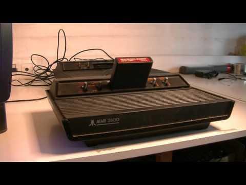Test #1: Atari 2600 trouvée en déchetterie.