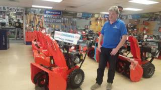 8. Ariens Deluxe 28 SHO review by CanadaSnowBlowers.com
